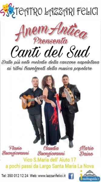 Canti Del Sud Live