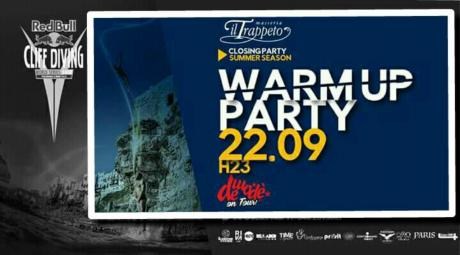 WARM UP_CLIFF_DIVING_PARTY REDBULL_CLOSING TRPPETO SUMMER!
