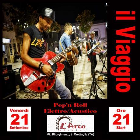 L'Arco wine bar (ex Amarcord) presenta Il Viaggio in concerto