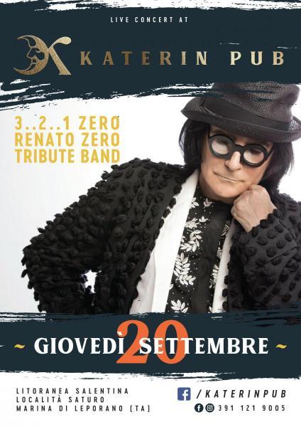 3..2..1 ZERO - Renato Zero Tribute Band live at Katerin Pub