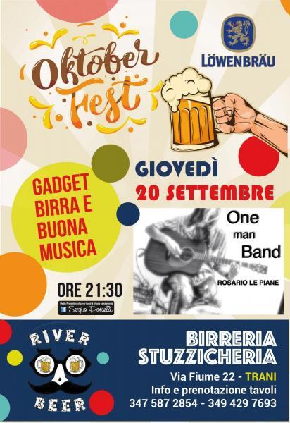 One man band - Rosario Le Piane a Trani -Oktoberfest
