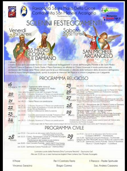 Festa dei Santi Medici e di San Michele Arcangelo