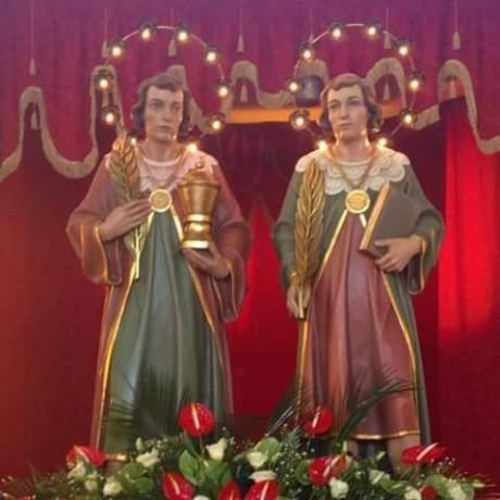 """Pizzica con gli """"Aia Noa"""" per la festa dei Santi Medici"""