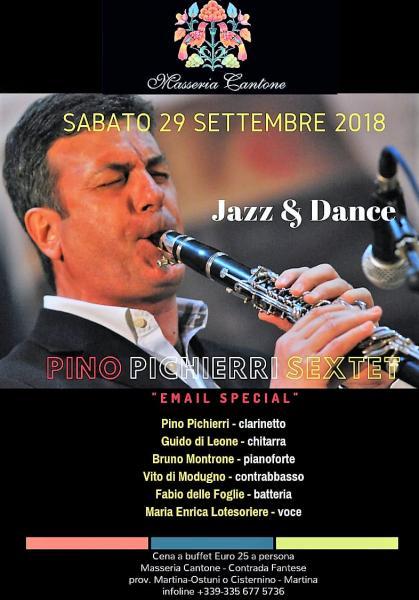 Jazz & Dance con Pino Pichierri Sextet