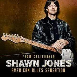 """Statte in Blues"" concerto finale con Shawn Jones"