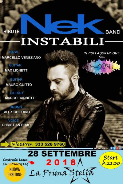 INSTABILI NEK TRIBUTE BAND UNiCi Live 2018