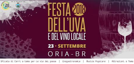 """Festa dell'uva e del vino e musica popolare, a cura dell'ass. """"E20 Promotion"""""""