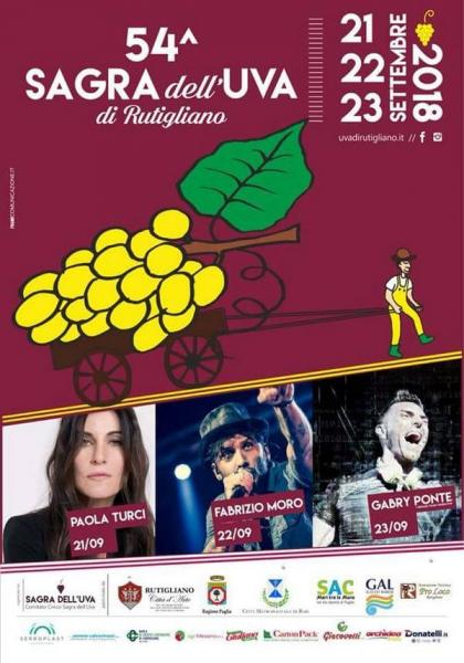 Sagra dell'uva. 54ª edizione.