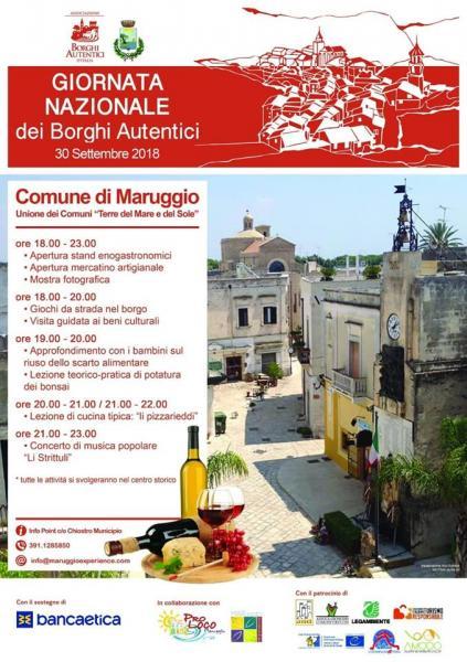 Giornata Nazionale dei Borghi Autentici - Maruggio