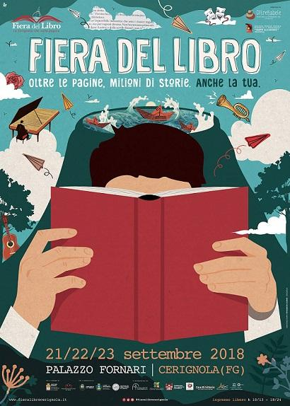 Fiera del Libro, dell'Editoria e del Giornalismo. Città di Cerignola. IX Edizione 2018