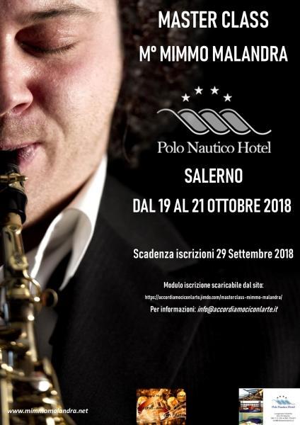 Sassofono Maestro Mimmo Malandra