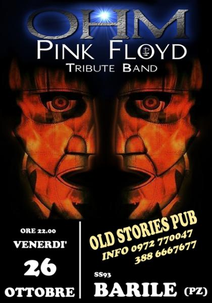 OHM PINK FLOYD LIVE - BARILE (PZ) - OLD STORIES PUB