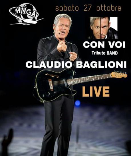 GranCONCERTO Claudio Baglioni Tribute Menù e serata Disco Dj