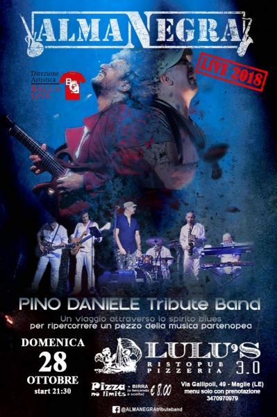 ALMANEGRA Pino Daniele Tribute Band al LULU'S 3.0