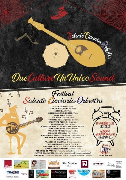 Salentociociaria Orchestra in concerto, in occasione della rinomata Fiera Expo 2000, Sabato 20 Ottobre a Miggiano