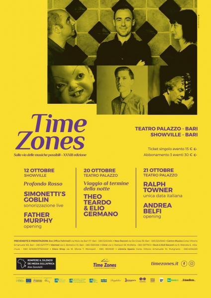 Time Zones XXXIII Edizione - Intrecci (intorno al minimalismo)