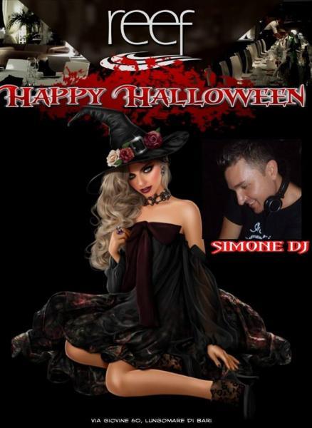 Halloween al Reef con SIMONE DJ