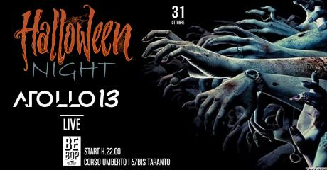 Hallowen Night with Atollo 13 at Bebop