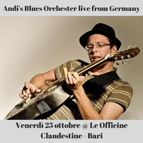 Andi's Blues Orchester live from Germany