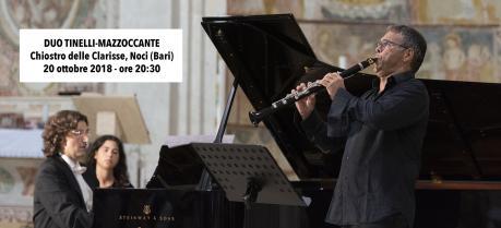 DUO TINELLI-MAZZOCCANTE (clarinetto e pianoforte)