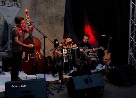 Traindeville in concerto al Festival Food And Art di Carbognano (Viterbo)