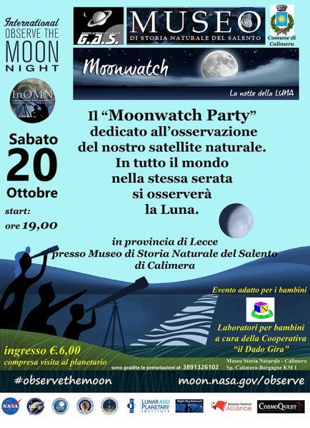 La notte della Luna - MoonWatch Party