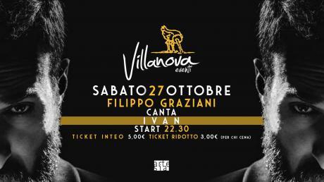 Filippo Graziani canta Ivan Graziani + Dj Set
