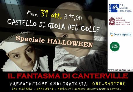 Il Fantasma di Canterville - speciale Halloween - Castello di Gioia del Colle