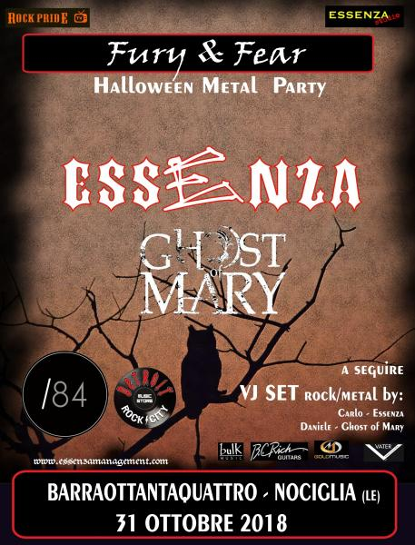 Helloween Metal Party - Essenza e Ghost of Mary in concerto