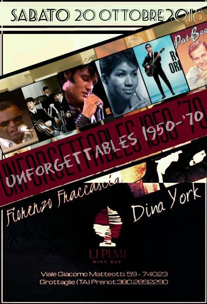 Unforgettable 1950 - 1970