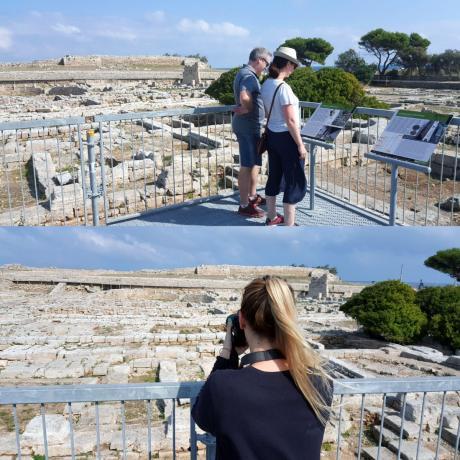 Visita al Museo e Parco Archeologico di Egnazia con Acropoli e Tomba delle Melagrane
