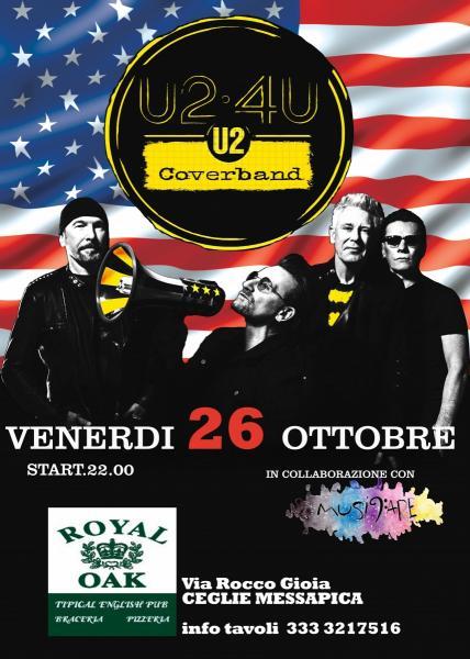 U2-4U tributeband live at Royal Oak