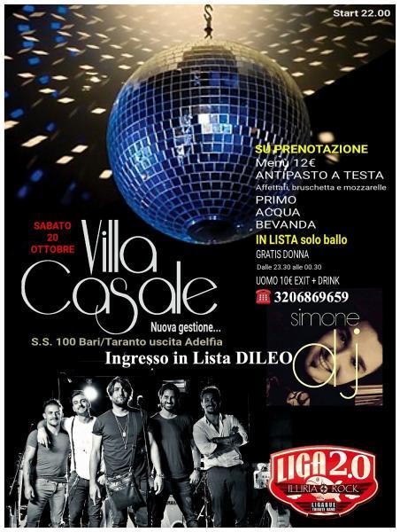 Cover Band Ligabue + Djset