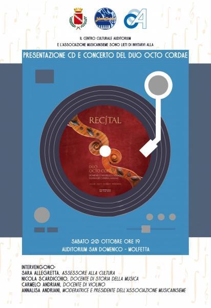 Presentazione cd e concerto del Duo Octo Cordae