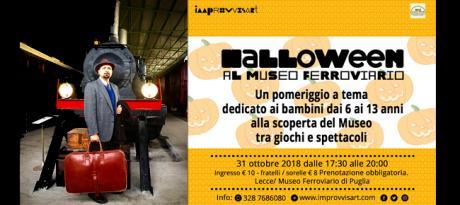 Halloween al Museo Ferroviario di Puglia per i bambini dai 6 ai 13 anni