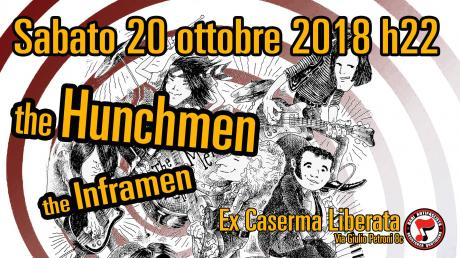 Live:: the Hunchmen - the Inframen