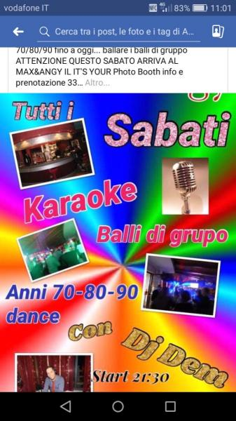 Karaoke Balli Di Gruppo Disco Anni 70/80/90