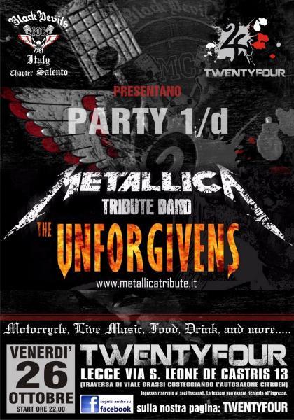 Metallica Tribute Unfogivens LIVE TwentyFour (LE)