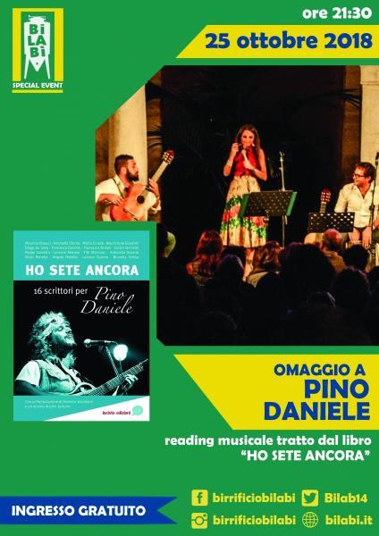 Bilabì Eventi - Omaggio a Pino Daniele