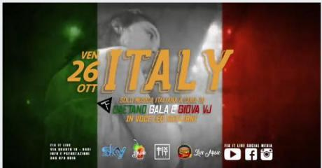 Venerdì 26.10 Party Italiano al FIX IT LIVE (BARI)