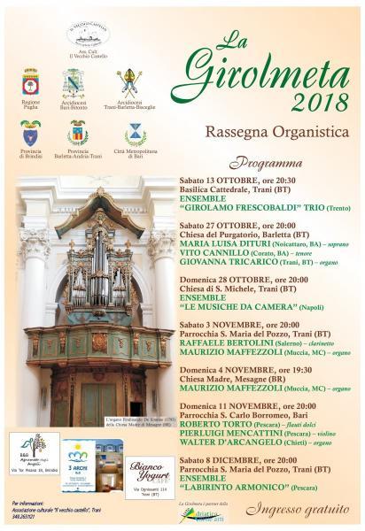 "Rassegna organistica ""La Girolmeta"" 2018"