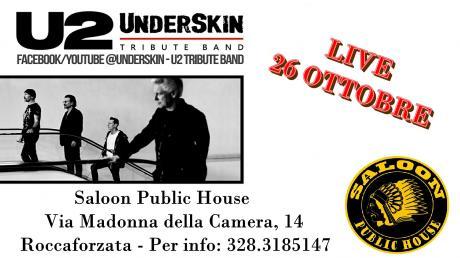 Underskin U2 Tribute Band Al Saloon !