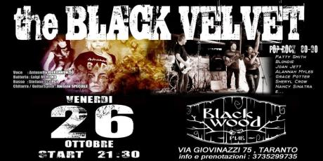 Black Velvet at Black Wood Pub - Ven. 26/10