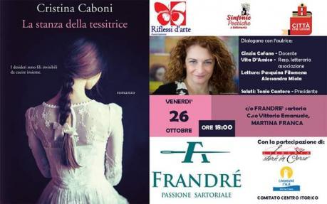 Incontro con Cristina Caboni: La stanza della tessitrice