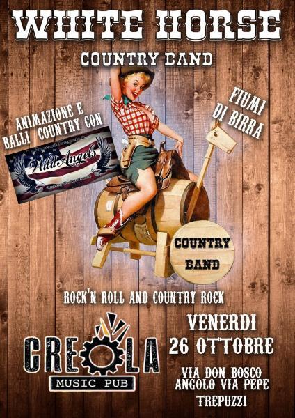 Oktoberfest al Creaola con White Horse Country Band & Wild Angels