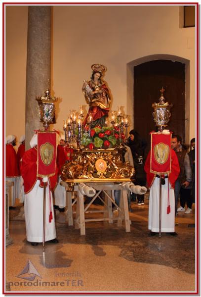 Festa di Santa Cecilia con banda, pettole e zampognari