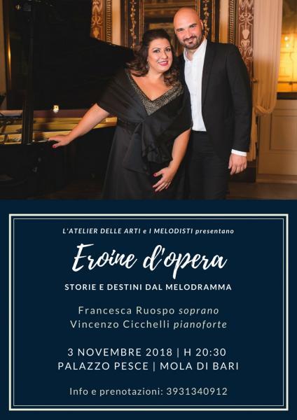 """Eroine d'Opera… Storie e destini dal melodramma…"""