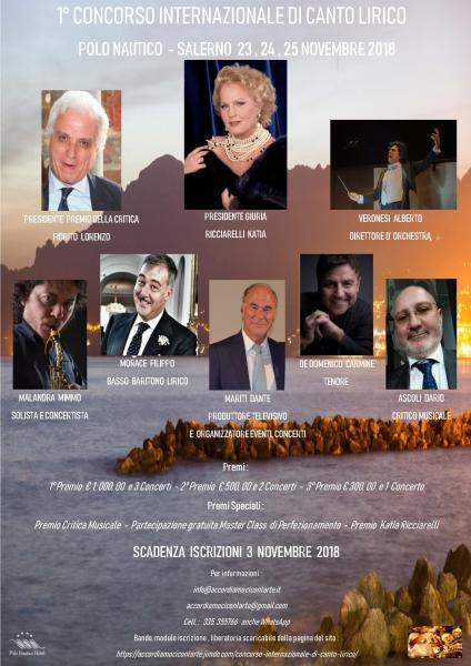 CONCORSO INTERNAZIONALE DI CANTO LIRICO