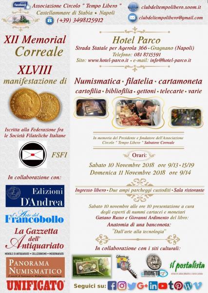Collezionismo: XII Memorial Correale