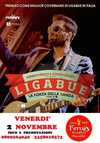 LIGABUE special tribute con i Sopravvissuti E Sopravviventi LIVE @ FERUS